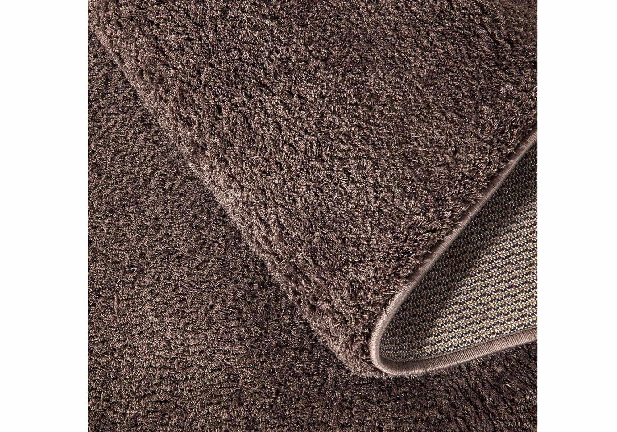 Hochflor-Teppich 60 x 110 cm - caramel - 30 mm - weich - Delgardo 501