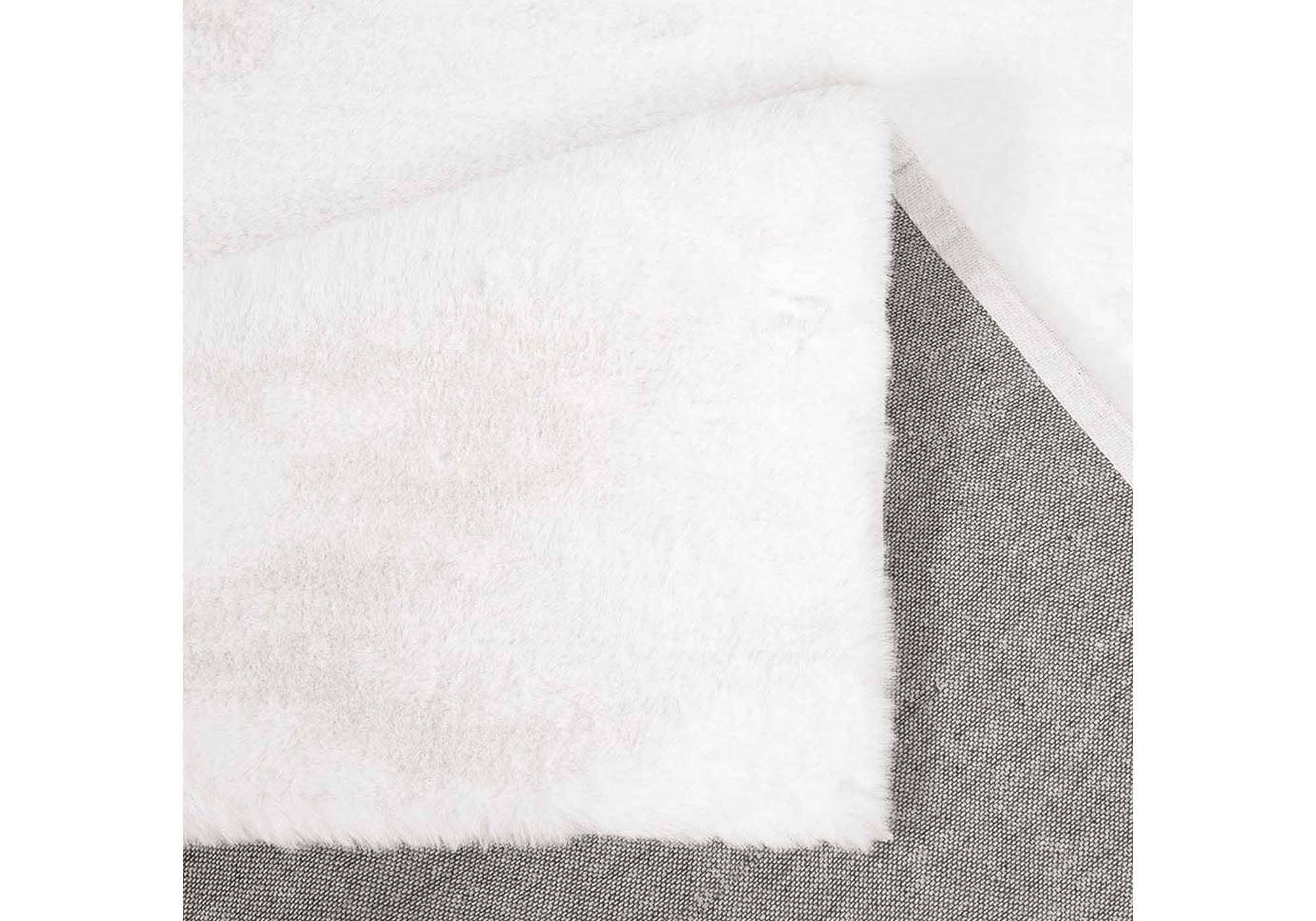 Hochflor-Teppich natur 120 x 170 cm - Soft Touch 900